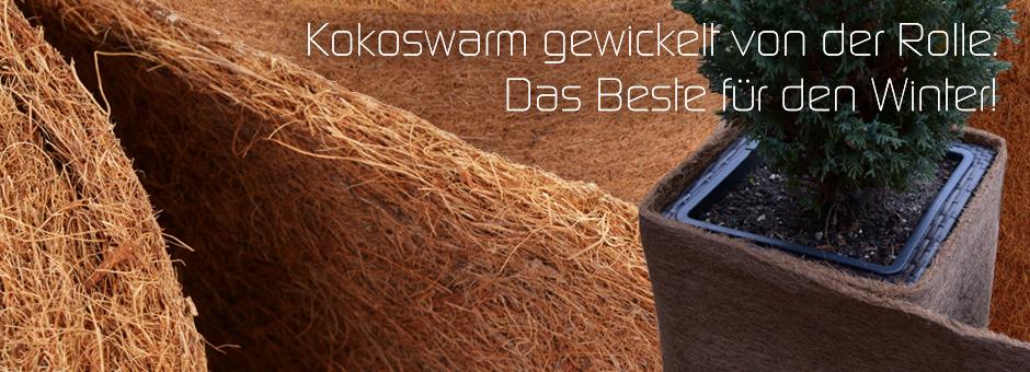 Kokoswarm gewickelt von der Rolle - Das Beste für den Winter!