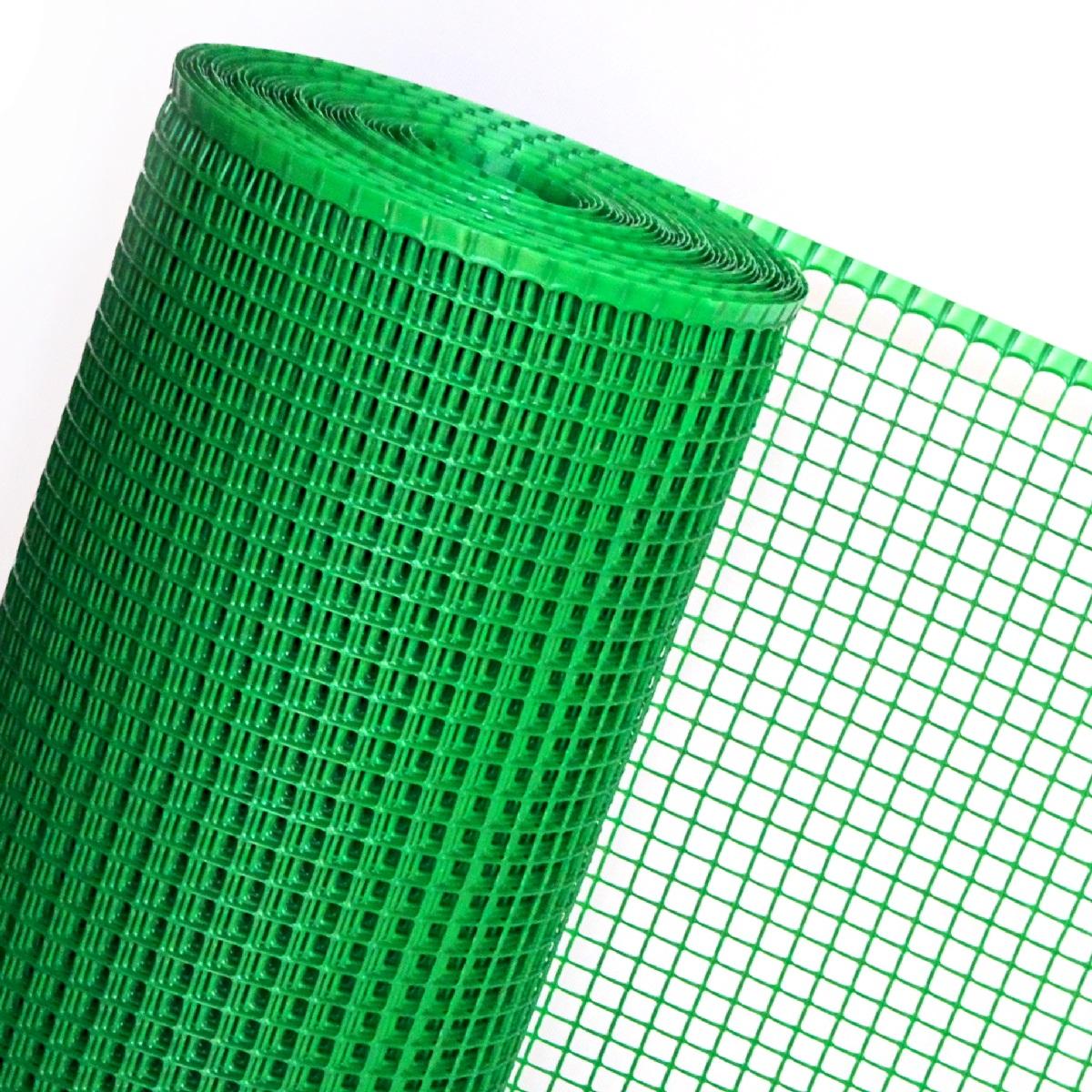 MAULWURFGITTER in 1,2m Br. (Meterware) Kunststoffgitter unter Rollrasen in grün
