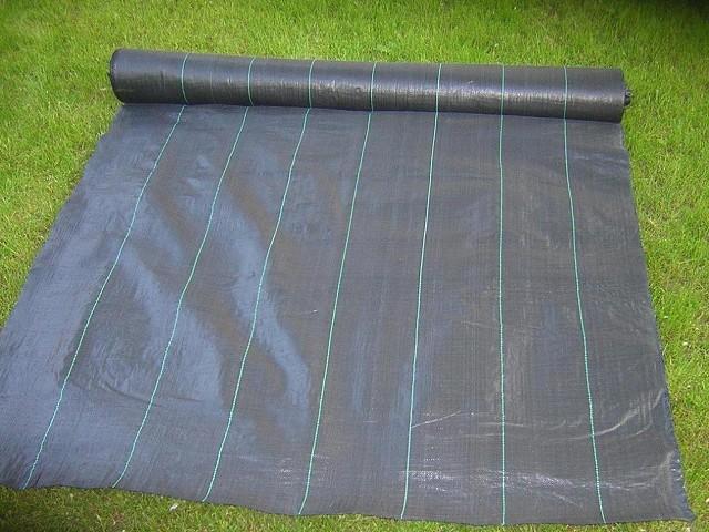 bodengewebe 100g m 1 6m x 5m unkrautblocker kiesunterlage mulchfolie. Black Bedroom Furniture Sets. Home Design Ideas