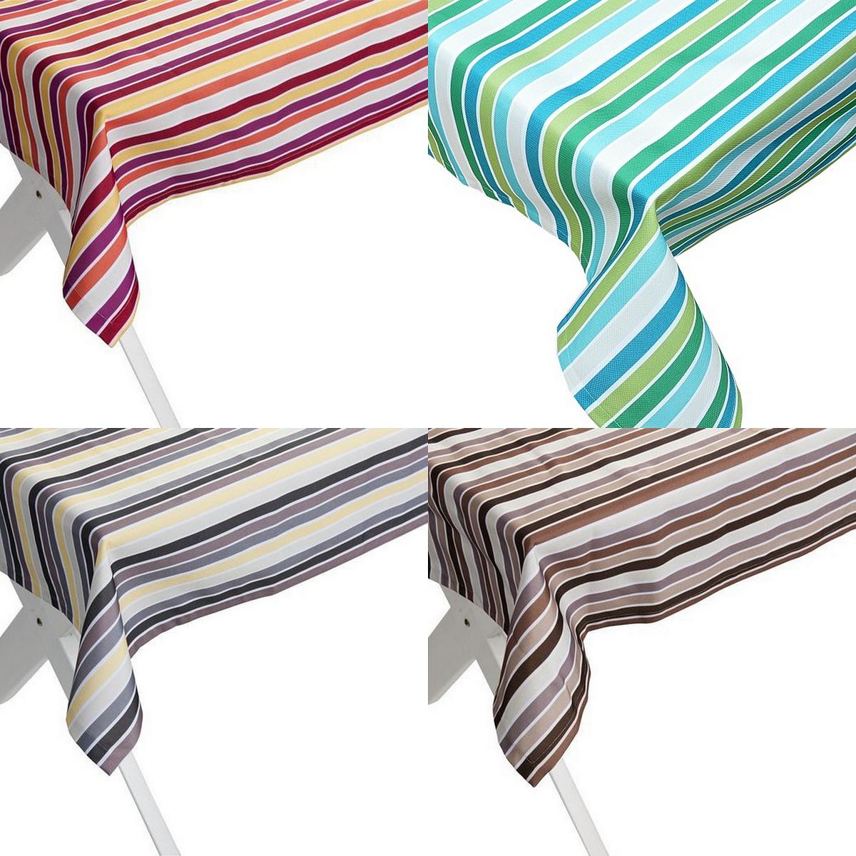 outdoor tischdecke 140cm x 240cm antibes gartentisch decke in versch farben. Black Bedroom Furniture Sets. Home Design Ideas