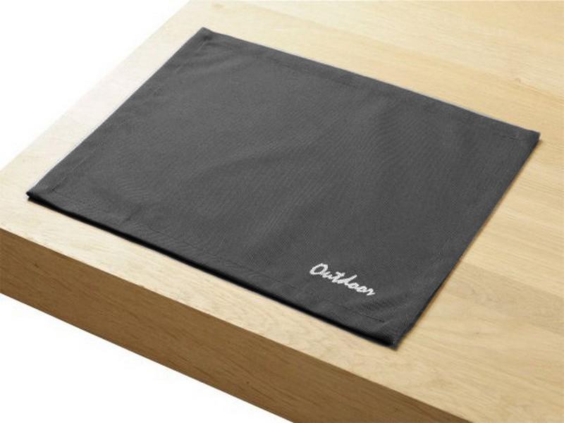 4 Stück Outdoor TISCHSETS 30x40cm St. Tropez graphite Platzset