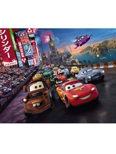 Fototapete Tapete Kindertapete Photo Bild Kinderzimmer Wandbild Cars race