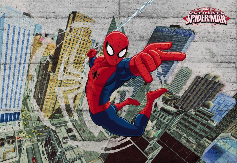 fototapete kinderzimmer kinder- tapete photomural spiderman