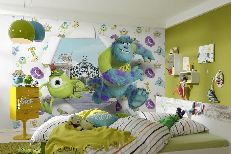 fototapete kinderzimmer kinder tapete photomural monsters. Black Bedroom Furniture Sets. Home Design Ideas