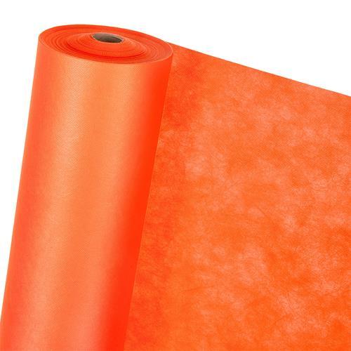 DEKOVLIES in 1,6m Breite orange (METERWARE) Dekostoff Tischdecke