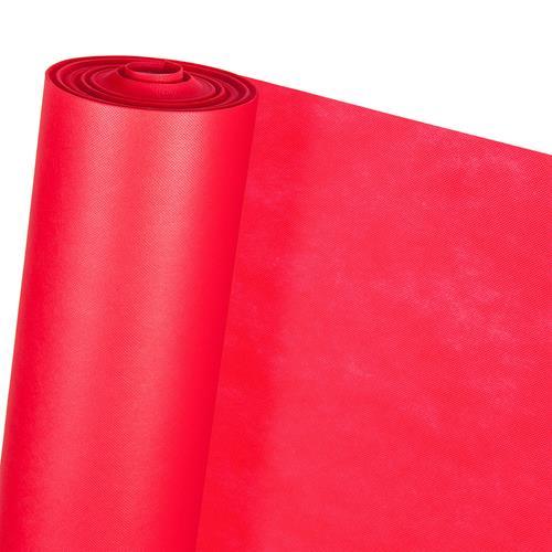 DEKOVLIES in 1,6m Breite rot (METERWARE) Dekostoff Vlies-Tischdecke