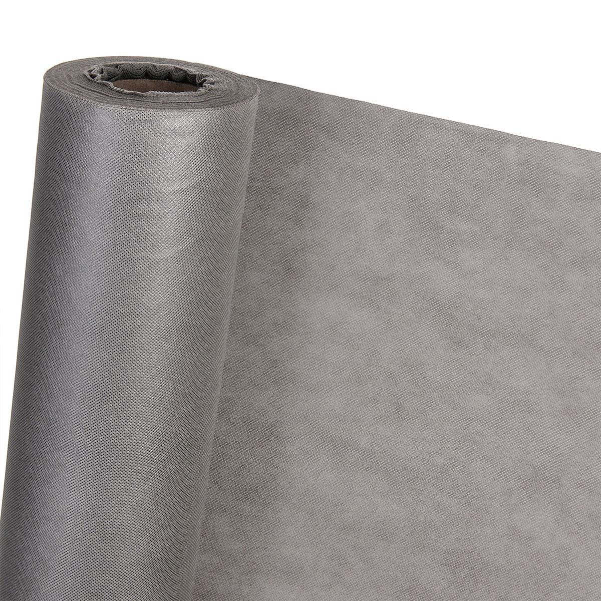 Dekovlies Dekostoff Tischdecke Tischband Tischdeko Haga Grau 16m