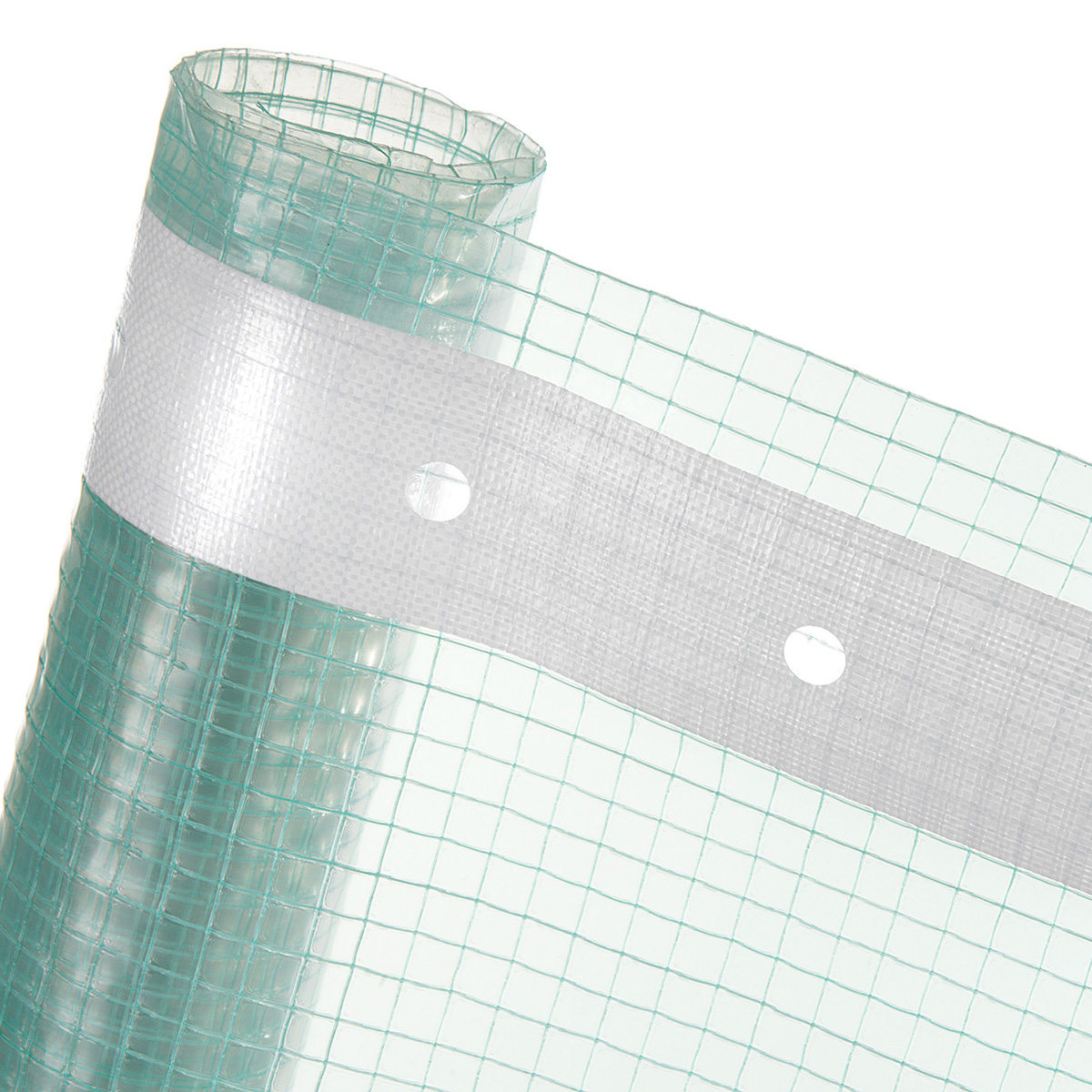 GITTERFOLIE in 1,5m Breite (Meterware) für Gewächshausbau Folientunnel