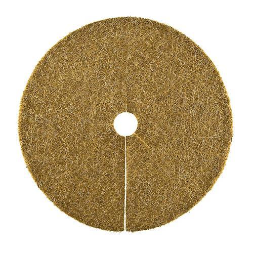 Kokosscheibe L Kübelabdeckung Winterschutz für Topfpflanzen Ø 45cm