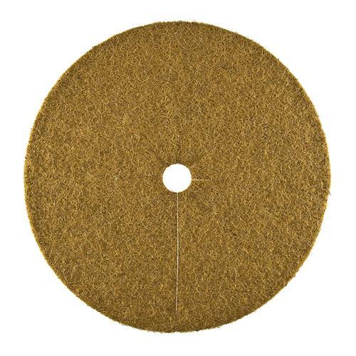 Kokosscheibe XL Kübelabdeckung Winterschutz für Topfpflanzen Ø 60cm