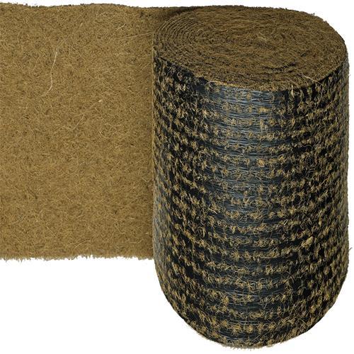 Kokosmatte in 0,5m Br. (Meterware) 500g/m² auf biologisch abbaubarer Folie