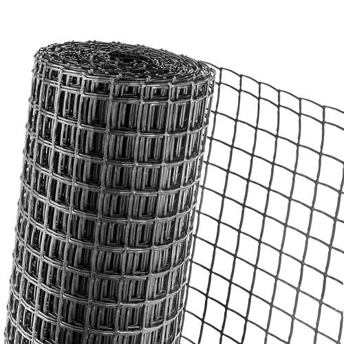 KUNSTSTOFFZAUN 0,5m Höhe (Meterware) Masche 40mm Geflügelzaun anthrazit