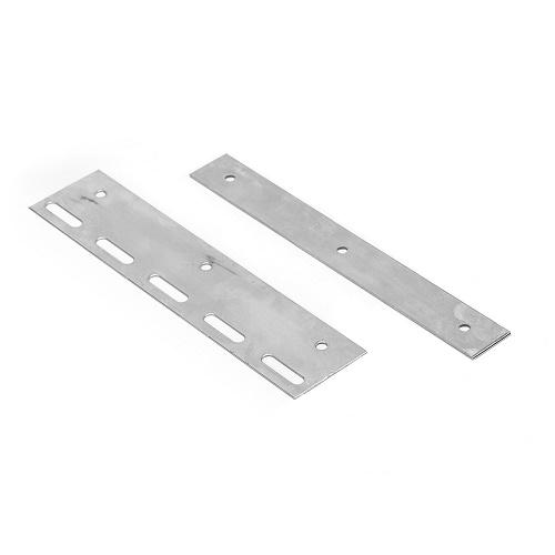 Befestigungsplatte in 20cm Länge für Lamellenvorhang PVC-Streifenvorhang