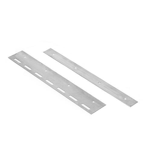 Befestigungsplatte in 30cm Länge für Lamellenvorhang PVC-Streifenvorhang
