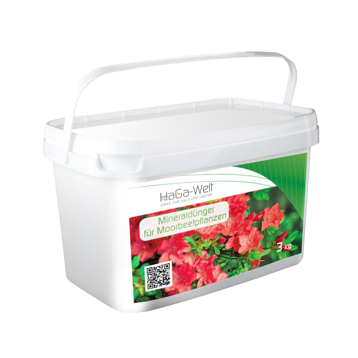 Mineraldünger für Moorbeetpflanzen Dünger Blumen- Pflanzendünger 3kg