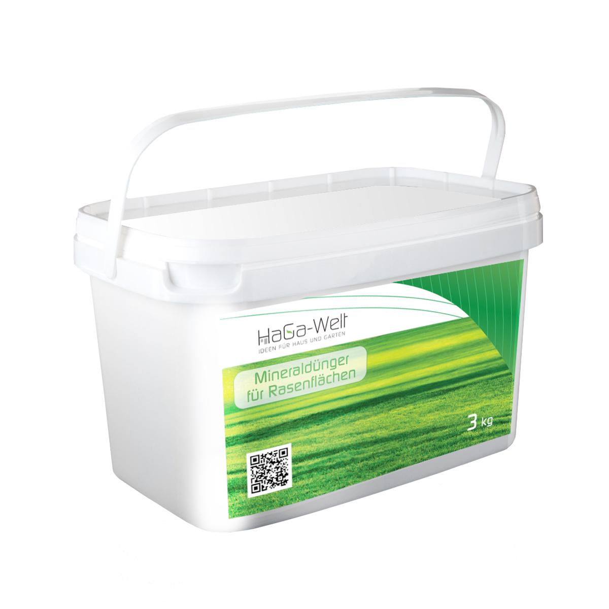 Mineraldünger für Rasenflächen Rasendünger Dünger Düngemittel 3kg