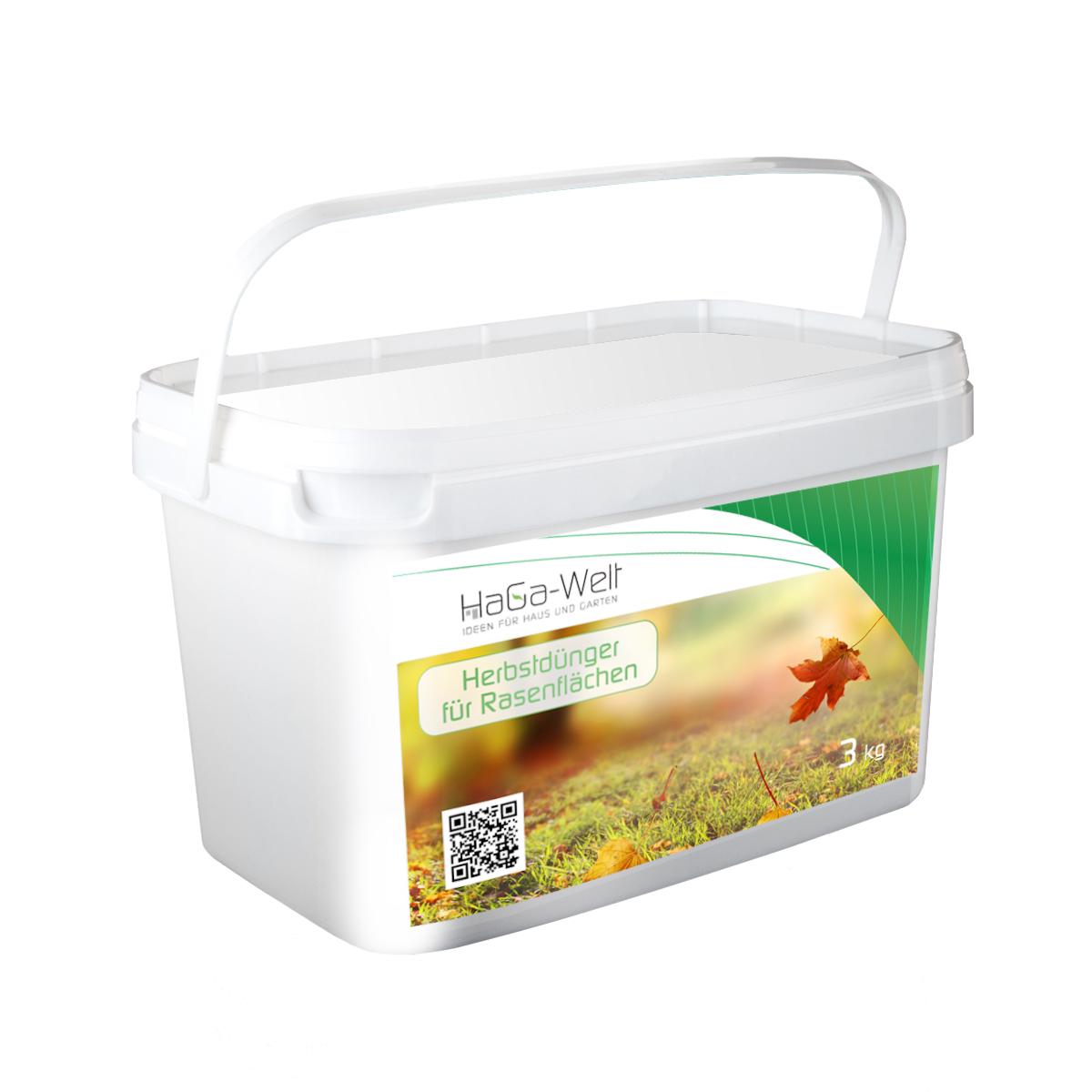Herbstdünger für Rasenflächen Rasendünger Mineraldünger Dünger 3kg