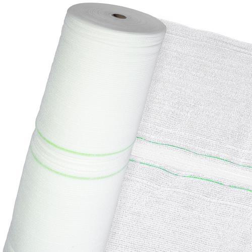 Schattiernetz 60% 3m Br (Meterware) Sonnenschutz Sichtschutz Schattierung weiß