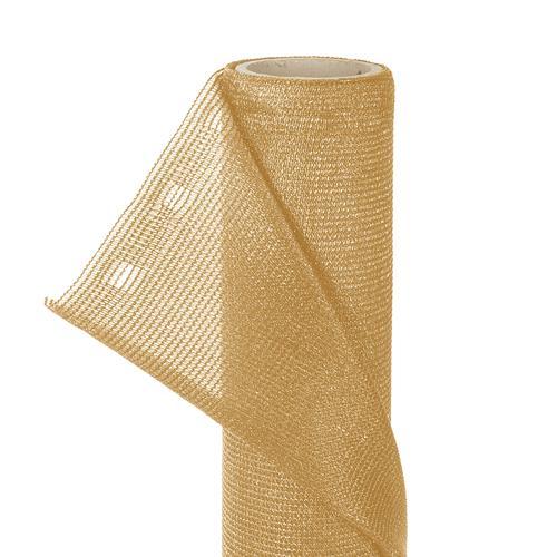 ZAUNBLENDE 1,5m x 10m Sonnenschutz Sichtblende Tennisblende in beige
