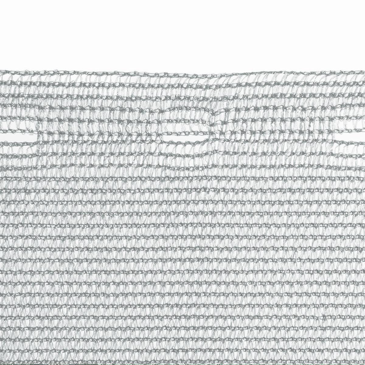 Zaunblende 85 1 5m X 30m Wind Sichtschutz Schattiernetz Silbergrau