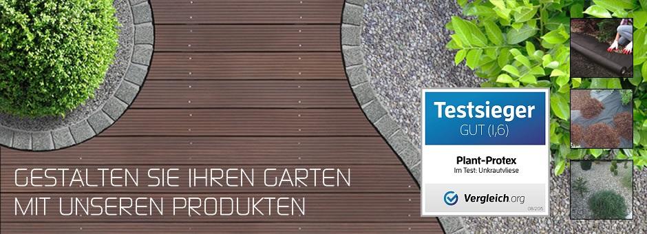 Gestalten Sie Ihren Garten mit unseren Produkten!