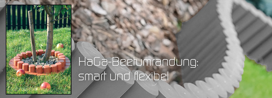 HaGa-Beetumrandung: smart und flexibel