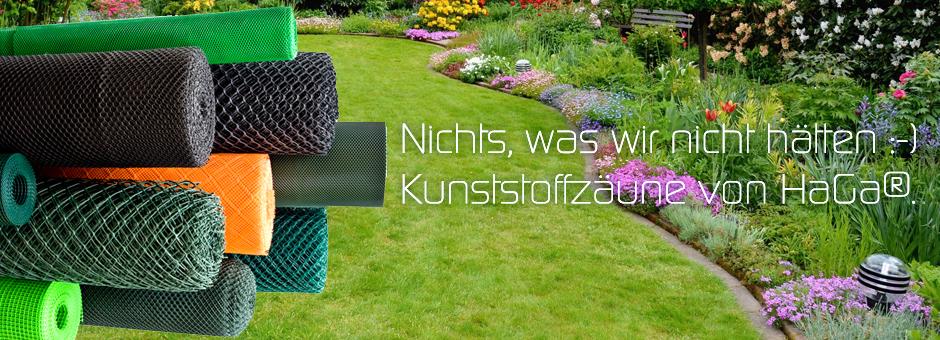 Nichts, was wir nicht hätten :) Kunststoffzäune von HaGa.