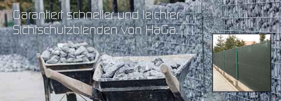 Garantiert schneller und leichter: Sichtschutzblenden von HaGa.