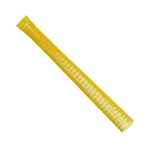 Verpackungsnetz (Meterware) Netzschlauch Schutznetz Ø 25-50mm gelb