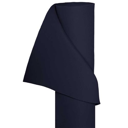 Filz Bastelfilz in 1,5m Br. (Meterware) Dekostoff Wollfilz in dunkelblau
