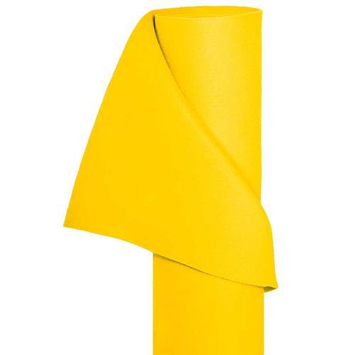 Filz Bastelfilz in 1,5m Br. (Meterware) Dekostoff Wollfilz in gelb