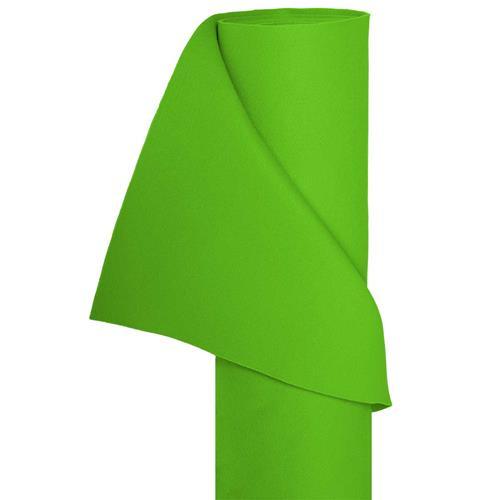 Filz Bastelfilz in 1,5m Br. (Meterware) Dekostoff Wollfilz in hellgrün