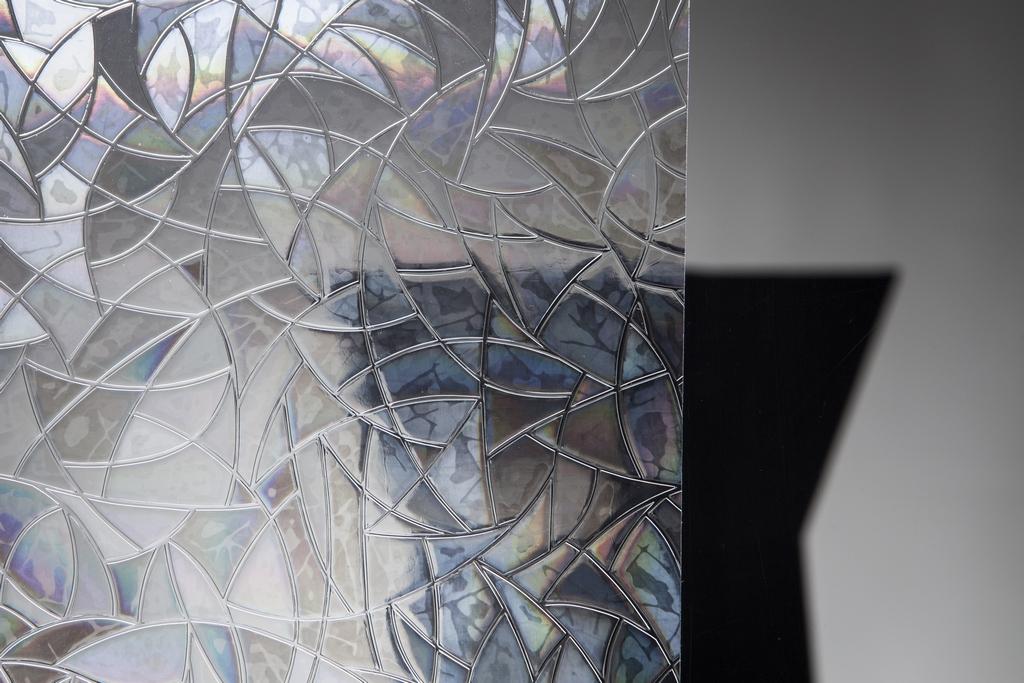 Statische Fensterfolie Brilliant 45cm breit Milchglasfolie (Meterware)