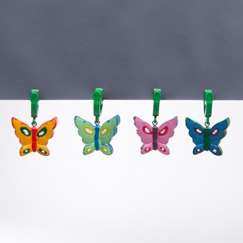 4 Stück Tischdeckengewichte Butterfly Tischdeckenbefestigung Tischdecke