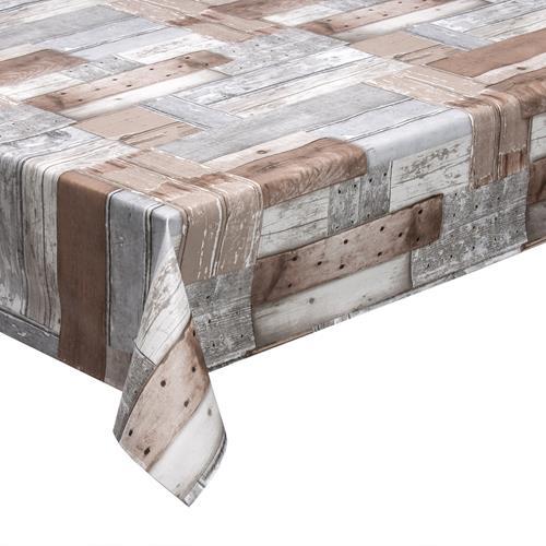 wachstuch in 1 4m br wood meterware tischdecke lacktischdecke. Black Bedroom Furniture Sets. Home Design Ideas